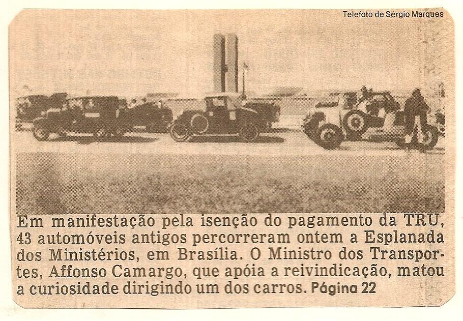 3 - Foto Legenda 01 coluna 3015 - Fords  Viagem mudou o antigomobilismo brasileiro 3 Foto Legenda 01 coluna 3015 Fords