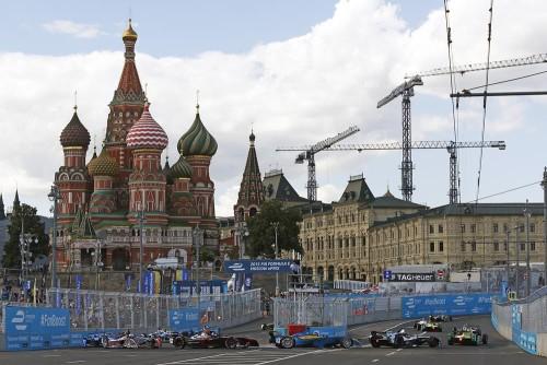 Rússia é um dos Brics no calendário da F-1, junto com a China (foto www.FiaFE.com)  Crise, que crise? F E Moscou 2