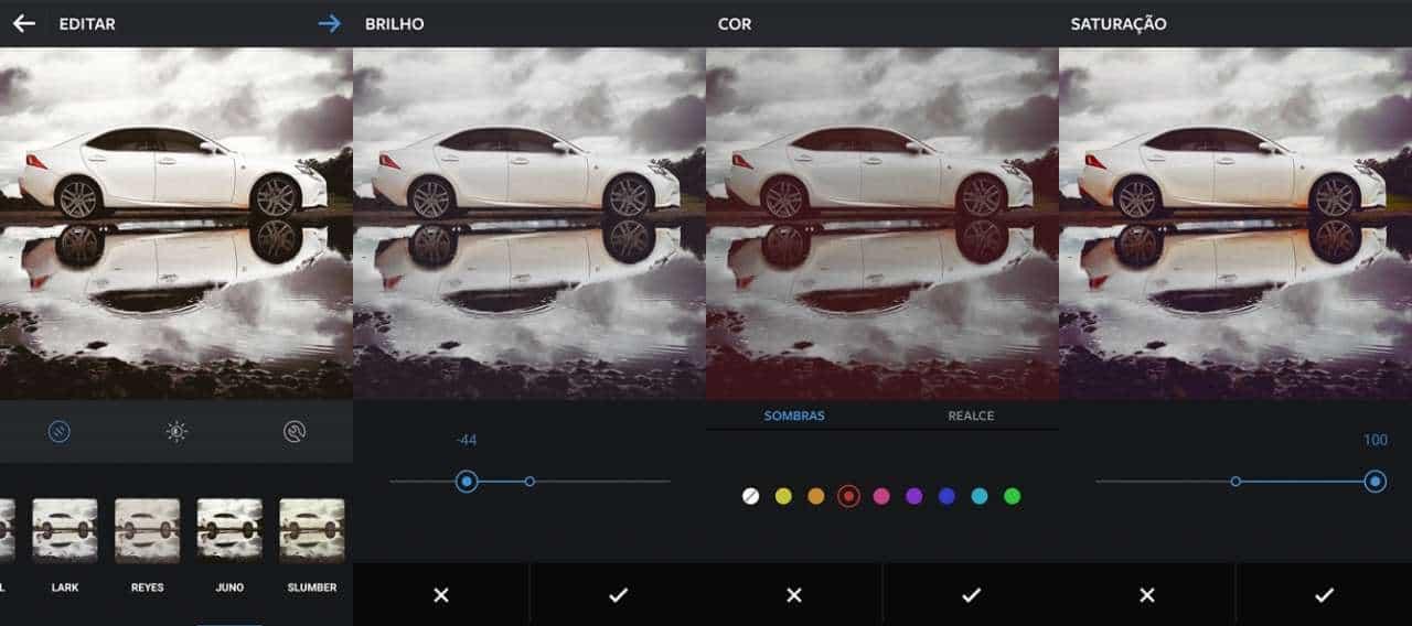 Diferentes tela do Instagram. Fácil e gratis! Dicas de fotografia DICAS DE FOTOGRAFIA COM CELULAR Lexus IS250 mObgraphia Instagram