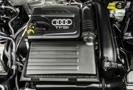 Motor 1,4-l turbo rende 150 cv e tem ampla faixa de torque máximo  OS NOVOS AUDI Q3, PRIMEIRAS IMPRESSÕES Q3 ALTA 13