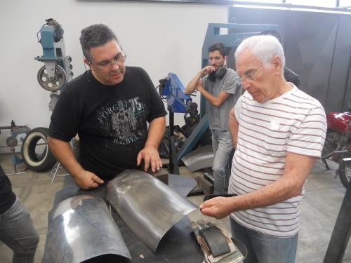 Alexandre Salzano (E) e Toni BIanco (foto arquivo Studio Salzano)  UM SÉRIO CASO DE AMOR Salzano e Bianchi