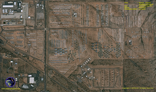 Fotos de satélite de alta resolução são feitas pela composição de milhares de fotos de baixa resolução