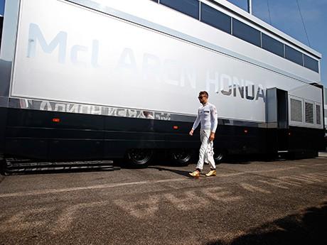 Futuro de Button parece cada vez mais distante da McLaren (foto McLaren Media Centre)