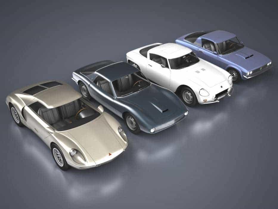 4 Esportivos Nacionais  PIAN GT EM 3D, HOMENAGEM A UM GÊNIO DO DESIGN BRASILEIRO 4 Esportivos Nacionais