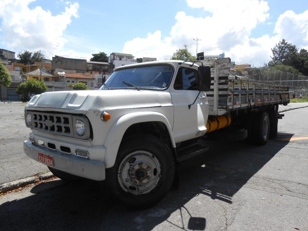 MOTORES A ÁLCOOL EM UTILITÁRIOS, CAMINHÕES E TRATORES Caminhao Chevrolet