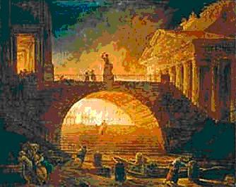 Roma fire