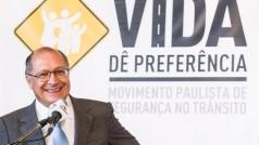 O Governador de  São Paulo, Governador lançou   Programa Movimento Paulista de Segurança no Trânsito. 20/08/2015, São Paulo - Eduardo Saraiva/A2IMG
