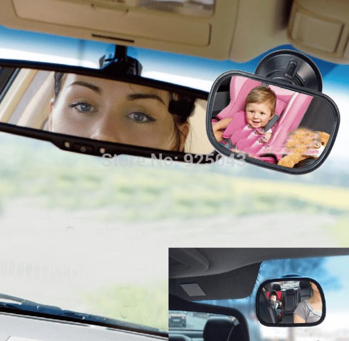 Carro de mulher? Carro de alguma mulher... espelho