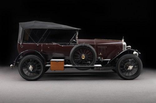 Vauxhall Type E 30/98 Velox 1920 049  O 30-98 E A MORTE DA VAUXHALL Vauxhall Type E 30 98 Velox 1920 profile top up top up049