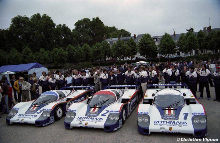 saga da porsche A SAGA DA PORSCHE EM LE MANS 1982 Porsche 956 1 2 3