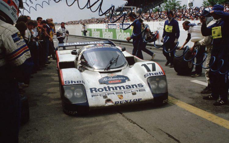 saga da porsche A SAGA DA PORSCHE EM LE MANS 1987 Le Mans 1987 Porsche 962 C trackthoughts com