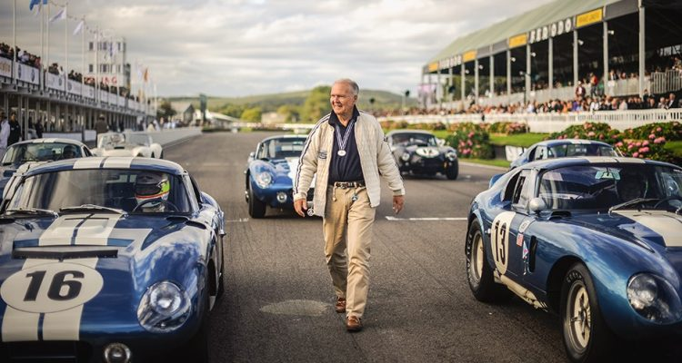 Peter Brock e seus Daytona Cobra Cupe