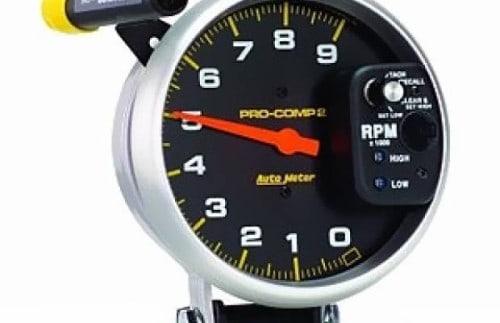 conta-giros-auto-meter-pro-comp-2-5-memory-9.000rpm-shift-light-com-suporte-pedestal---6851-4055-20595