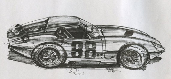 Desenho de Brock, de 1963
