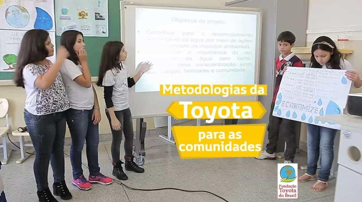 Fundação Toyota e o Projeto Ambientação