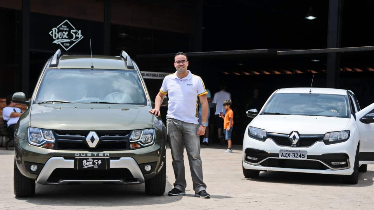 Jefferson Antunes da Renault - foto: PK