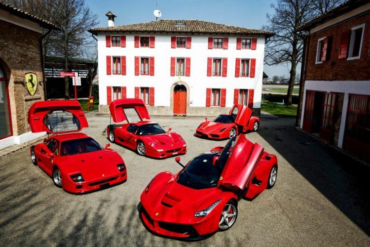 A EVOLUÇÃO DOS CARROS ESPORTE Ferrari F40 F50 Enzo 451121 1zoom net