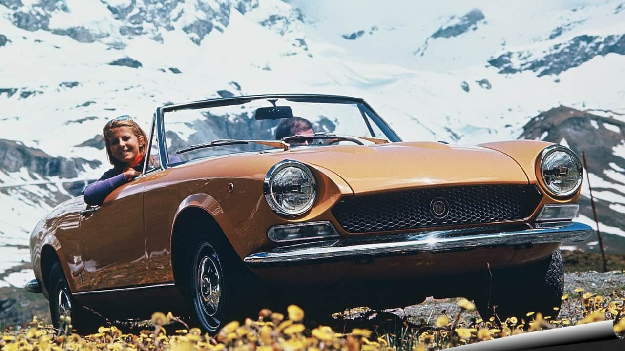 Fiat 124 Sport Spider 1969 fiat 124 NOVO FIAT 124 SPIDER Fiat 124 Sport Spider 1969 1600 01