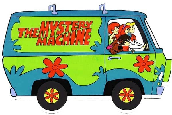 Mystery Machine1  A KOMBI DA FORD Mystery Machine1