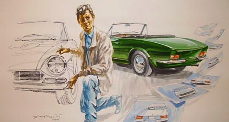 Tom Tjaarda, um norte-americano que soube desenhar esportivos italianos fiat 124 NOVO FIAT 124 SPIDER www