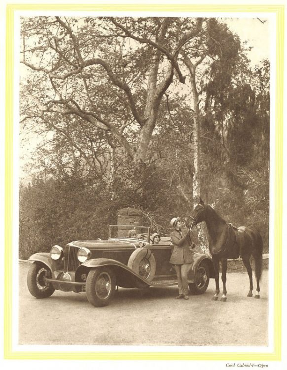 1929 Cord Catalogue-04  MILLER-BURDEN ROADSTER: O MAIS EXCLUSIVO CARRO DO MUNDO 1929 Cord Catalogue 04