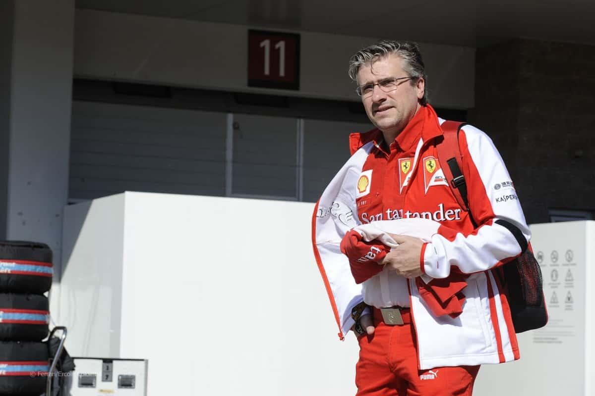 Pat Fry cumpriu quarentena após deixar a Ferrari e agora volta à ativa pela Manor (Foto Ferrati)
