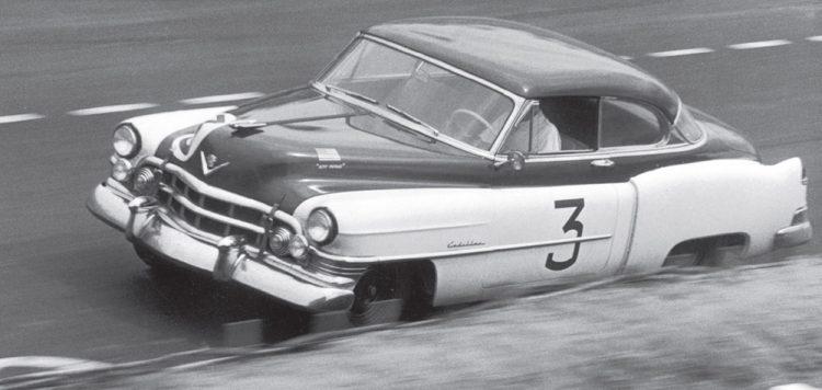 OS CADILLACS DE CORRIDA DE BRIGGS CUNNINGHAM 1950 Coupe deVille at LeMans 3a myautoworld com
