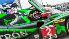 Pipo Derani e o Ligier Honda HPD JS P2, os grandes nomes de Daytona 2016 (Foto José Mário Dias)