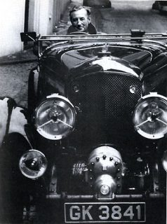 Ian Fleming e Blower Bentley (literary007.com)