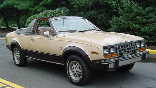 wiki 1981_AMC_Eagle_convertible_beige_NJ  AMC EAGLE: O OUTRO FERGUSON FORMULA wiki 1981 AMC Eagle convertible beige NJ