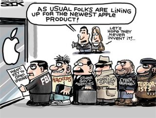 ... a ferramenta exigida pelo FBI à Apple