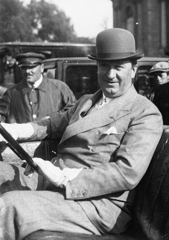 Ettore_Bugatti_1926  O BUGATTI TIPO 41 ROYALE Ettore Bugatti 1926