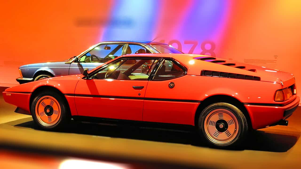 A Lamborghini foi a escolhida para desenvolver e fabricar o M1, mas seus problemas financeiros fizeram a BMW assumir o projeto depois de 7 protótipos construídos   BMW, 100 ANOS IMG 9117a