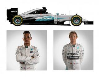 Mercedes AMG F1 W07 de Lewis Hamilton e Nico Rosberg (F-1.COm)  MUDANÇAS FAZEM F-1 COMEÇAR DE CABEÇA PARA BAIXO MERC