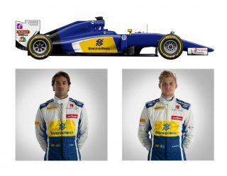 O Sauber C35-Ferrari de Felipe Nasr e Marcus Ericsson (F-1.Com)  MUDANÇAS FAZEM F-1 COMEÇAR DE CABEÇA PARA BAIXO Sauber