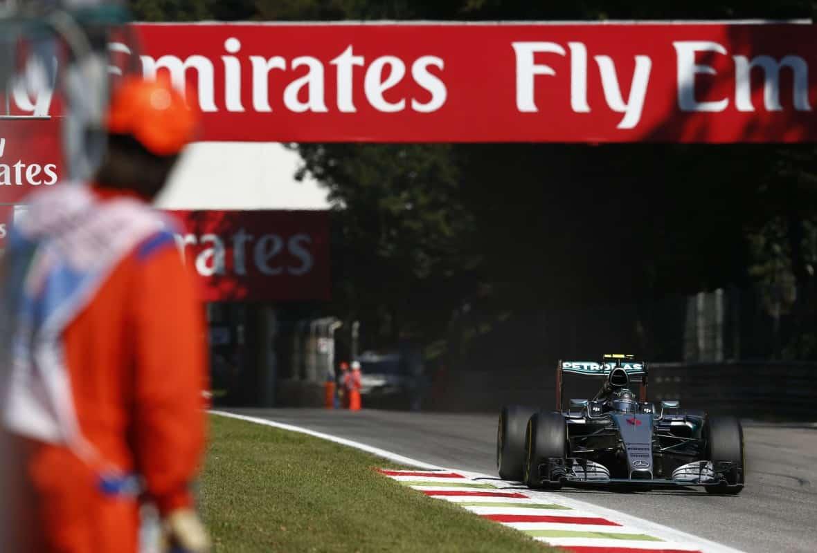 Os adminitradores do Autódromo de Monza procuram a luz no fim do túnel (Foto Mercedes)