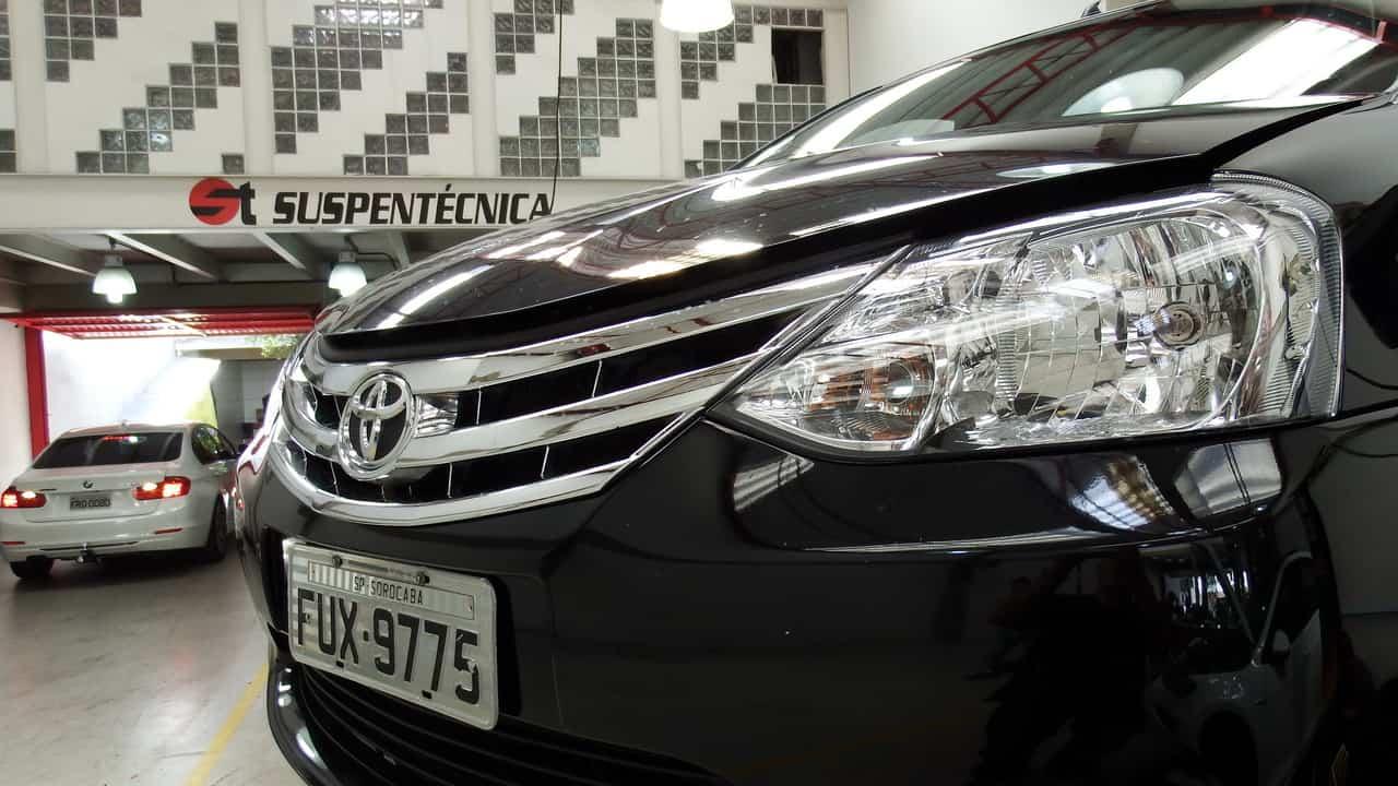 Toyota Etios Suspentecnica 01  TOYOTA ETIOS PLATINUM – 4ª SEMANA – FINAL (COM VÍDEO) Toyota Etios Suspentecnica 01