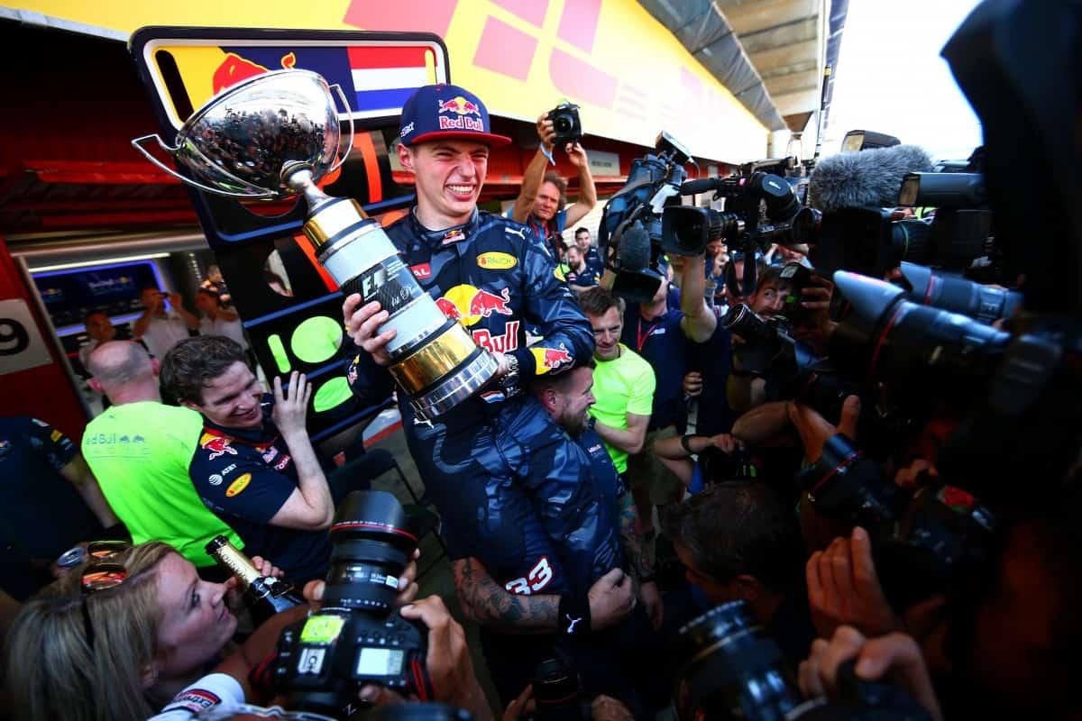 Vitória de Verstappen tem impactos positivos sobre a F-a e o kart (Foto Red Bull/Getty Images)