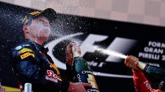 Verstappen: primeiro holandês a vencer na F-1 é tambem o mais jovem ganhador de um GP (Foto Red Bull/Getty Images)