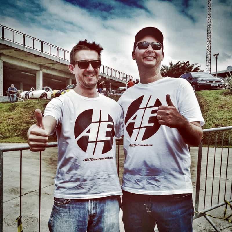 Equipe AE-BMW: o Érico e eu  DEZOITO VOLTAS EM INTERLAGOS Rali 04