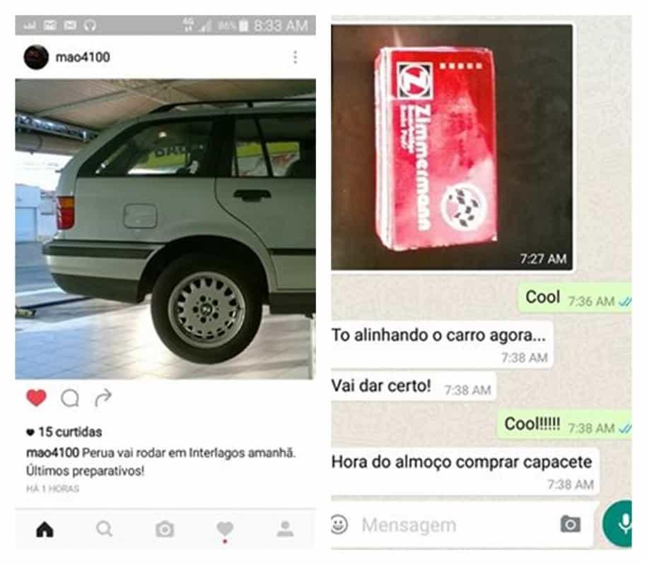 Os preparativos  DEZOITO VOLTAS EM INTERLAGOS Rali