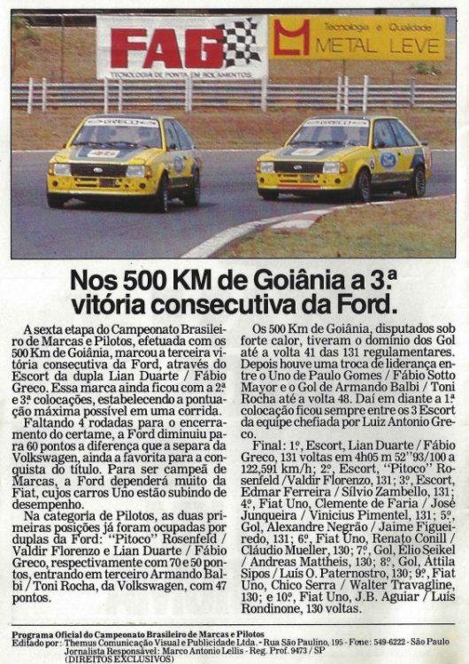 campeonato marcas  SAUDOSAS CORRIDAS campeonato marcas