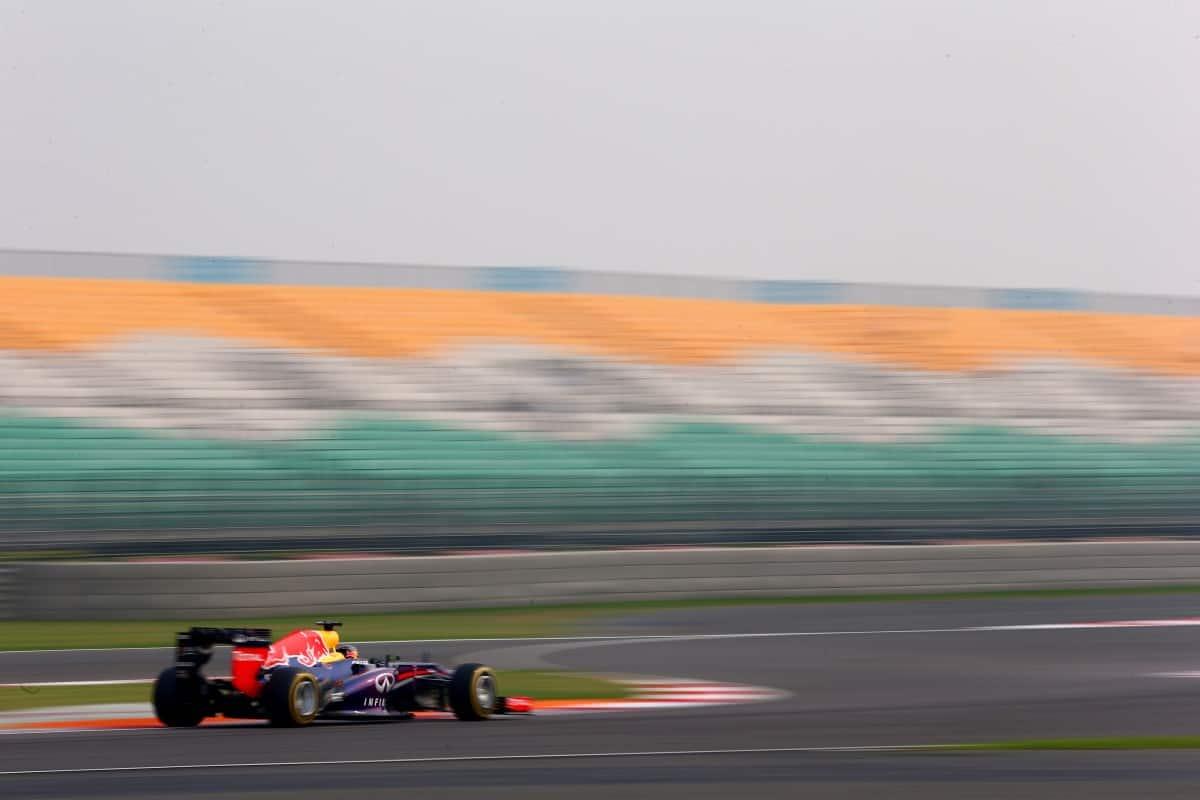 A Índia construiu um autódromo para receber a F-1 mas o encanto durou pouco (Foto Red Bull/Getty Images)
