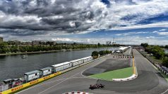 A raia olímpica de Montreal é cenário típico do circuito Gilles Villneuve (foto Red Bull/Getty Images)