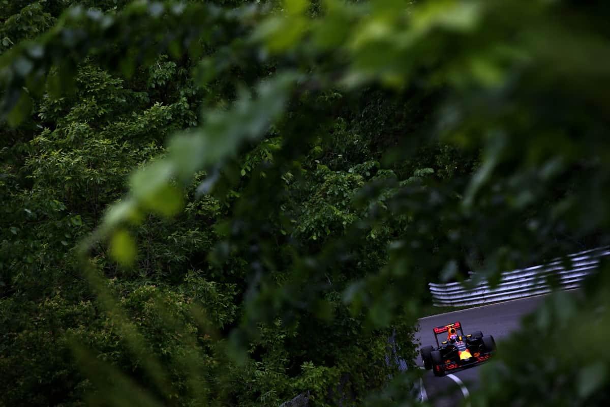 Verstappen amadurece a cada prova. EM disputa selvagem se impós ao líder do campeonato (Foto Red Bull/Getty Images) canadá, vettell, ferrari, hamilton, rosberg, bottas CORRIDA MORNA, INDÍCIOS QUENTES 20160614 F1 CND Verstappen Getty