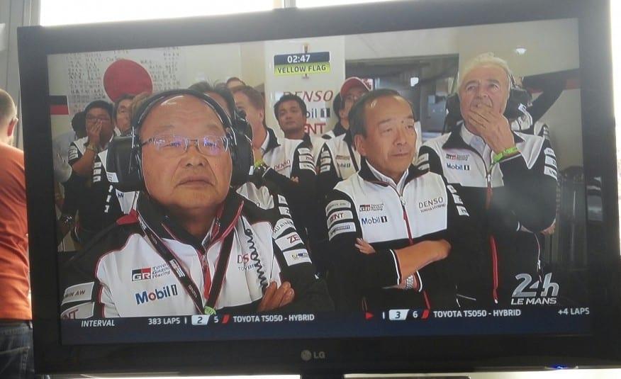 Japoneses ficaram impassíveis no momento da derrota (foto ACO) mans F-1 PERDE PARA LE MANS. MAIS UMA VEZ. 20160619 145714 resized1