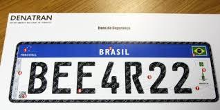 8-6-16 placas 1  A UNIFORMIZAÇÃO DAS PLACAS 8 6 16 placas 1