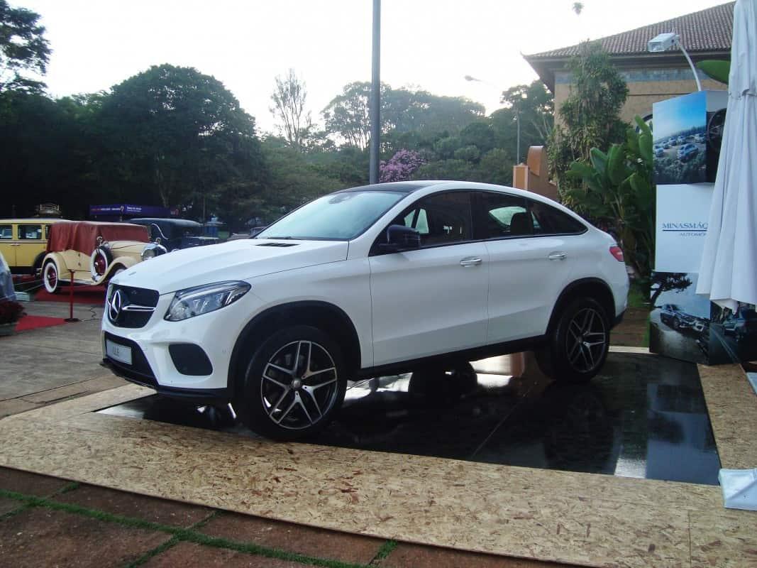 Mercedes GLE Coupé, um super suve  BRAZIL CLASSICS SHOW 2016 - ARAXÁ-MG (COM VÍDEO) DSC00542