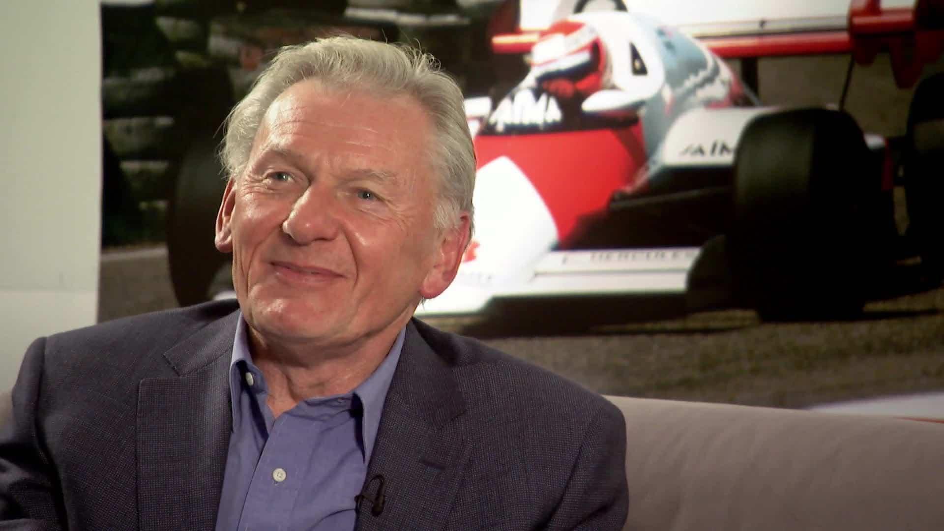 John Barnard já viveu papel importante na história da Ferrari (Foto Sky Sports)  QUANDO OS VENTOS SOPRAM DE OUTRO LADO 20160715 JohnBarnard SkySports