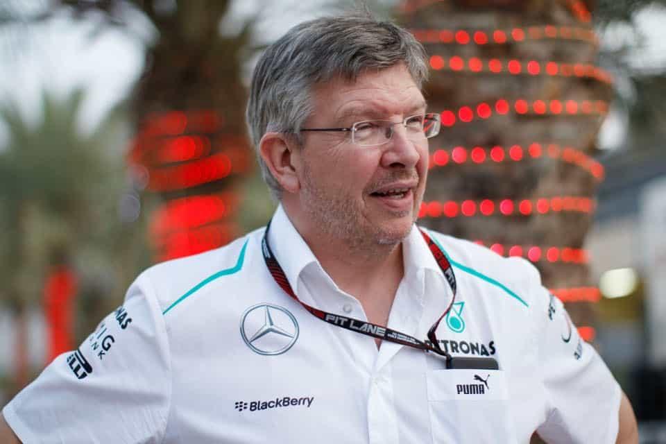 Ross Brawn, que formou a atual estrutura da Mercedes, pode renovar seus laços com a Ferrari (Foto Mercedes)  QUANDO OS VENTOS SOPRAM DE OUTRO LADO 20160719 Ross Brawn Mercedes
